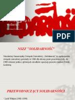 Powstanie Solidarności - Daria Iskra kl 2 bg