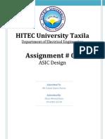 ASIC Assignment 01