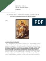 """Análisis de """"LaTrinidad"""" según el método de Panofsky"""