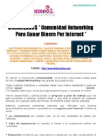 Dolarizados   * Comunidad Networking Para Ganar Dinero Por Internet *