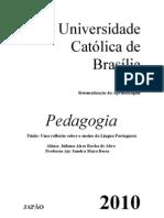 Sitematização de Lingua Portuguesa -Juliana Aires Rocha de Abreu-Pedagogia 5ºSemestre