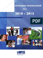 Plan Estratégico Institucional MTSS 2010-2015