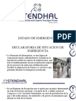 3. ESTADO DE EMERGENCIA