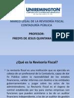 MARCO LEGAL DE LA REVISORIA FISCAL CONTADURÍA PÚBLICA FACULTAD DE CIENCIAS PARTE II