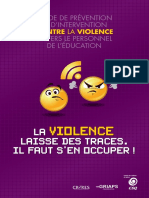 Guide Prevention Violence Novembre 2011