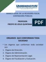 MARCO LEGAL DE LA REVISORIA FISCAL CONTADURÍA PÚBLICA FACULTAD DE CIENCIAS PARTE III