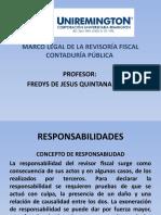 MARCO LEGAL DE LA REVISORIA FISCAL CONTADURÍA PÚBLICA FACULTAD DE CIENCIAS PARTE VI