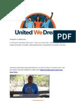 UWD - Meet Cindy - A DACA Recipient Part-time Student and Lab Tech