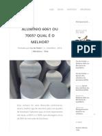 Alumínio 6061 ou 7005_ Qual é o melhor_ - Blog Cia do Pedal