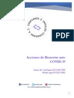 ACCIONES DE BIENESTAR _COVID19