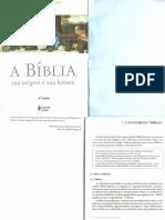 capítulos 1 e 2 Konings A Bíblia sua origem e sua leitura (1)