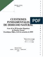 El Derecho Natural Católico y La Política - Juan Fernando Segovia