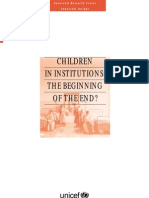 analisis institucionalizacion niños