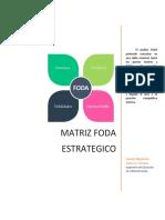 MATRIZ FODA ESTRATEGICO