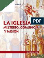 Calero Antonio María - La Iglesia Misterio, Comunión y Misión