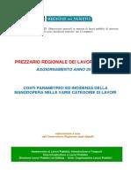 Prezzario_Regione_Veneto_2019_Costi Parametrici e incidenza manodopera