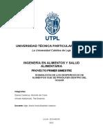 PARTE 1-VALORACIÓN DE LA SITUACIÓN ACTUAL (PROYECTO IB ALIMENTOS)