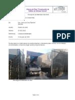 Informe 003 Recepción de Materiales