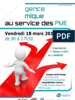 Programme Du Colloque IE-PME