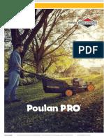 Catlogo Cortacesped Tractores Radio Zeros Poulan Pro Grupo Rumbo