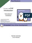Linux Kernel Intro