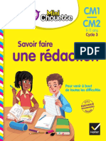 0-Mini Chouette - Savoir faire une rédaction CM1CM2 9-11 ans