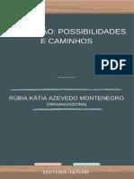 Livro EDUCACAO POSSIBILIDADES E CAMINHOS