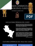 VESTIGIOS CERÁMICOS PREINCAS EN EL CUSCO