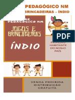 ÍNDIO - JOGOS - CLUBE PEDAGÓGICO NM