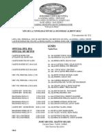 Servicio de Cadetes Del 28-09-2020