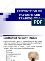 Protection of Patents and Trademarks