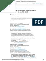 STF 16-04-2020 - Pg. 140 _ Supremo Tribunal Federal _ Diários Jusbrasil