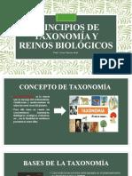 Principios de Taxonomía y Reinos Biológicos