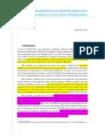 A estratégia argumentativa da reforma trabalhista no BR à luz de dados internacionais - MARCADO