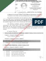 Admissibilite Rectutement Sepecial Traducteurs