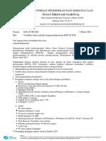 Verifikasi Data sekolah tmpt pelaksanaan KSN K (1)