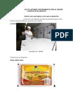 Informe 2 Recibo y Despacho De