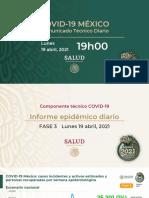 CP Salud CTD Coronavirus COVID-19, 19abr21