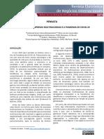 Reflexões Sobre Empresas Multinacionais E a Pandemia de Covid-19. Revista Electrônica de Negócios Internacionais Da ESPM