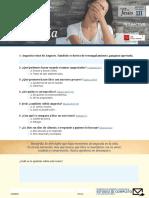 III- Angustia - Estudio Preliminar - La Fe de Jesus Interactivo