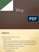 Media Pembelajaran Blog