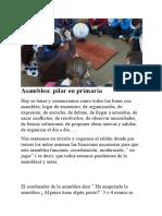 Ejemplo de Asamblea_Montessori