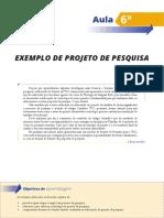 00 - Aula 06 Pro f Ronel - Exemplo de Proj de Pesquisa