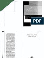 Paulo Netto. La construcción del proyecto ético-político del Servicio Social.