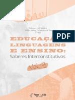 2021 Educação, Linguagens e Ensino Vol3 Capítulo