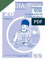 5. Alimentacion en la Adolescencia