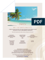 JOALI Being_Job Advertisement 190421