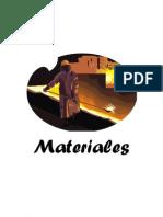 Trabajo de los materiales