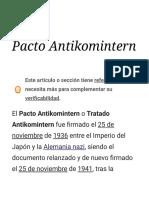 Pacto Antikomintern - Wikipedia, La Enciclopedia Libre