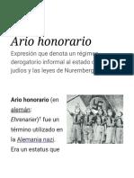Ario Honorario - Wikipedia, La Enciclopedia Libre